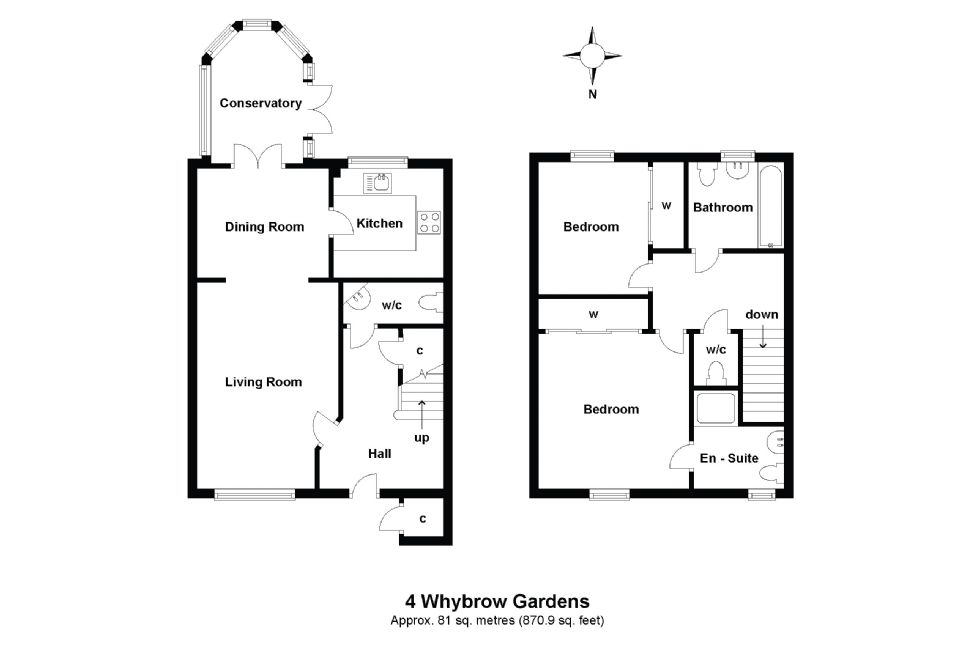 4 Whybrow Gardens Floorplan