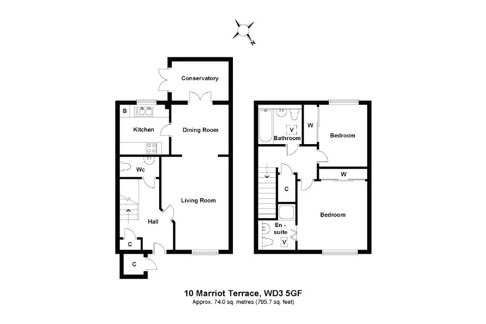10 Marriot Terrace Floorplan