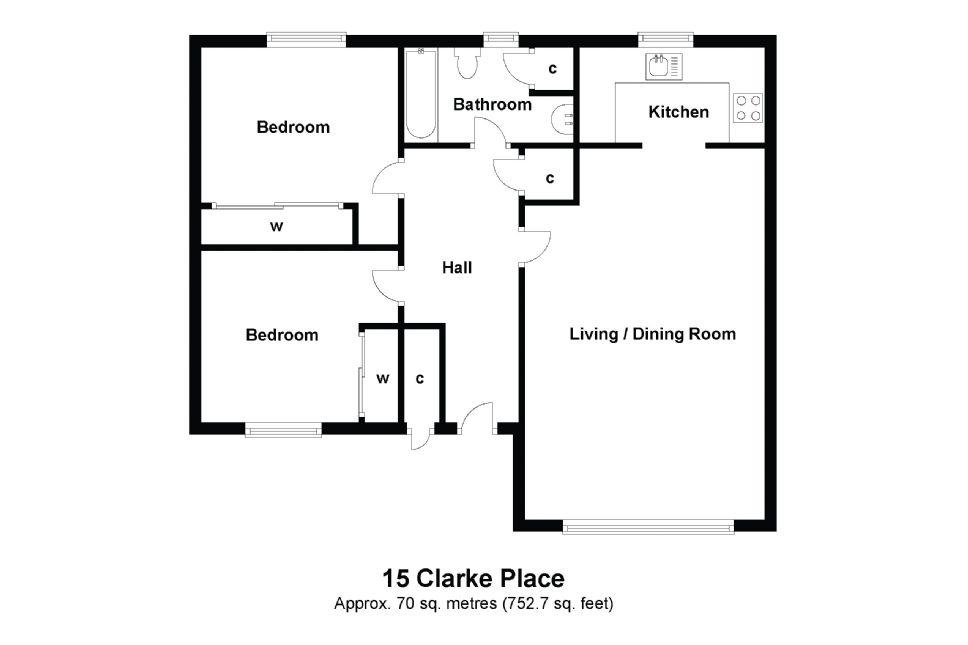 15 Clarke Place Floorplan