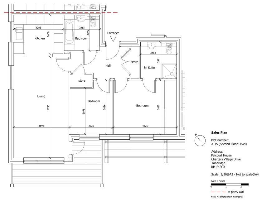 New Build 16 Felcourt House EPC Rating