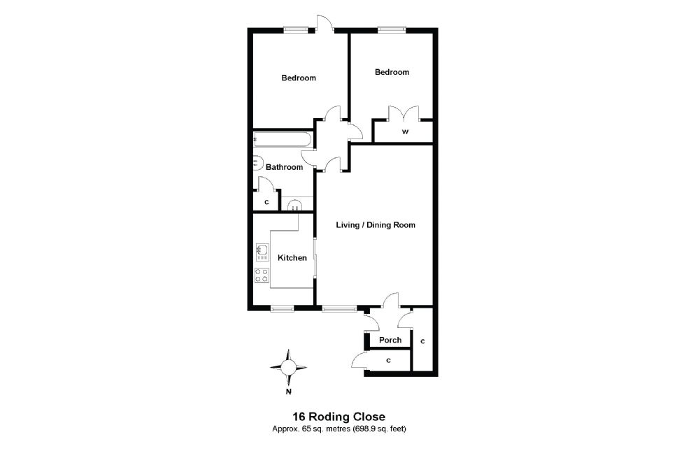 16 Roding Close Floorplan