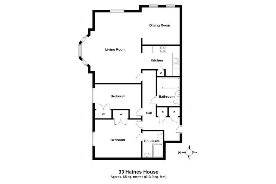 33 Haines House Floorplan