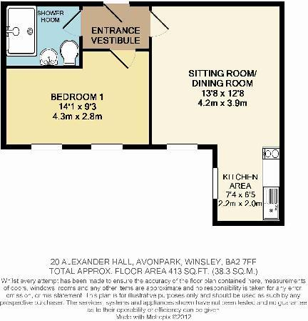 20 Alexander Hall Floorplan