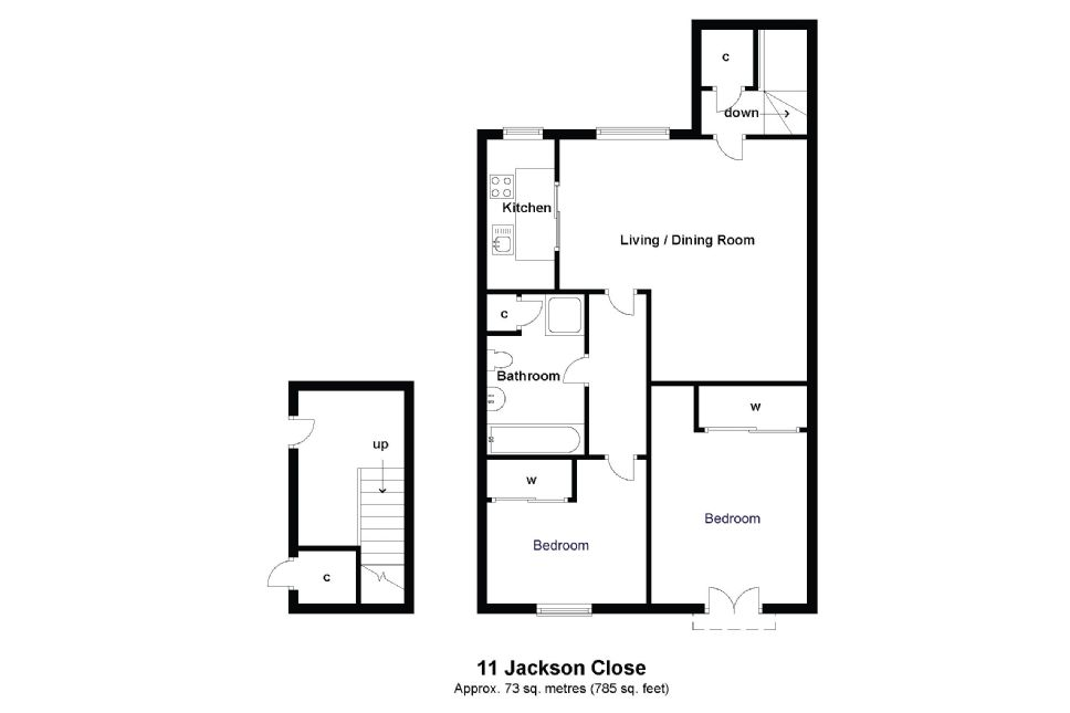 11 Jackson Close Floorplan