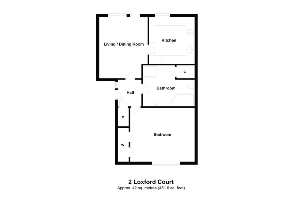 2 Loxford Court Floorplan