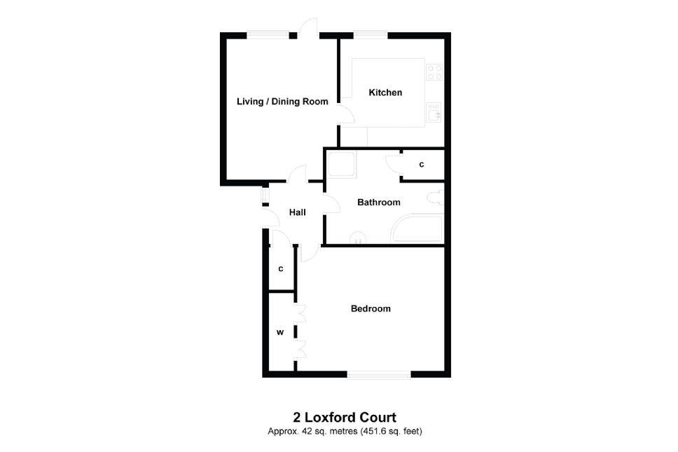 2 Loxford Court Floorplan