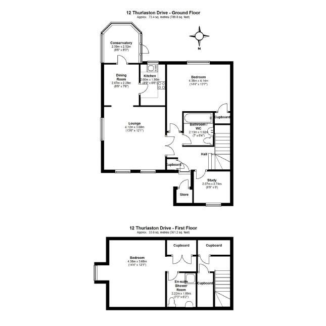 12 Thurlaston Drive Floorplan