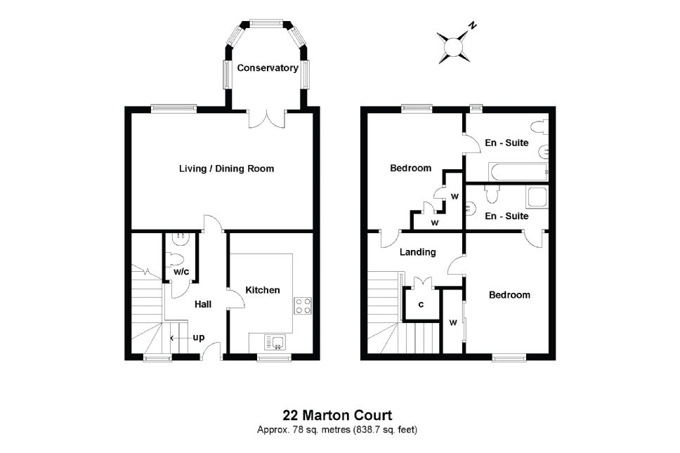 22 Marton Court Floorplan