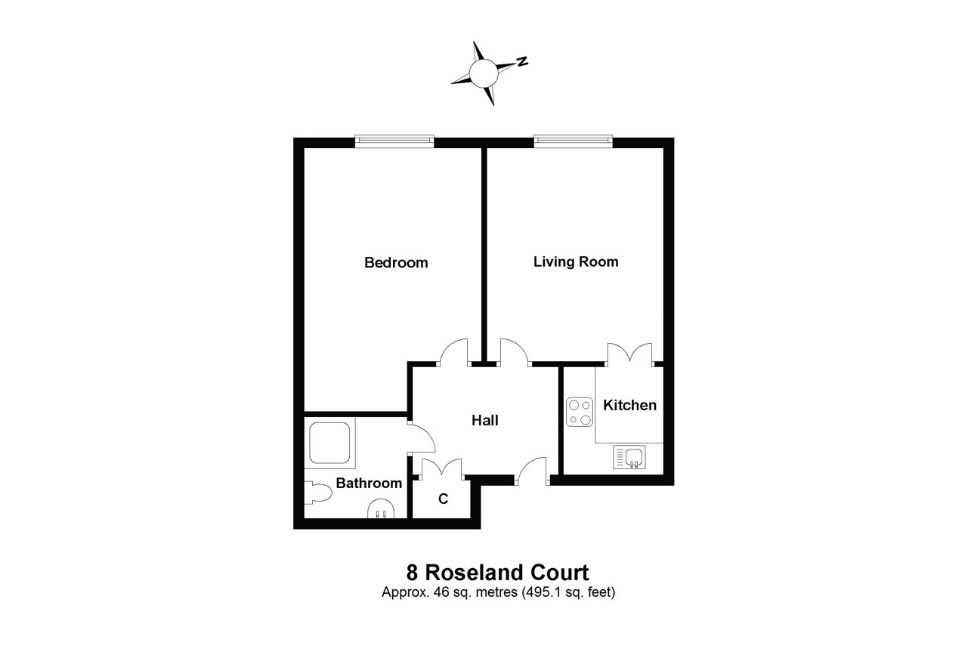 8 Roseland Court Floorplan