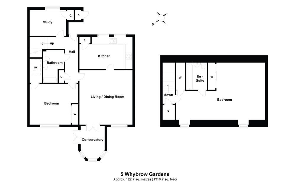 5a Whybrow Gardens Floorplan