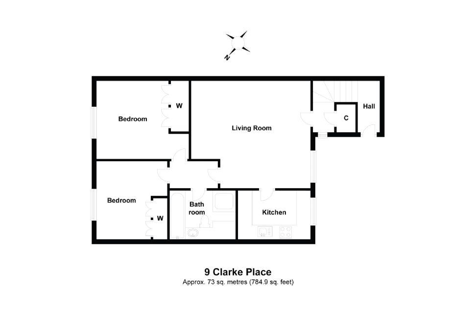 9 Clarke Place Floorplan