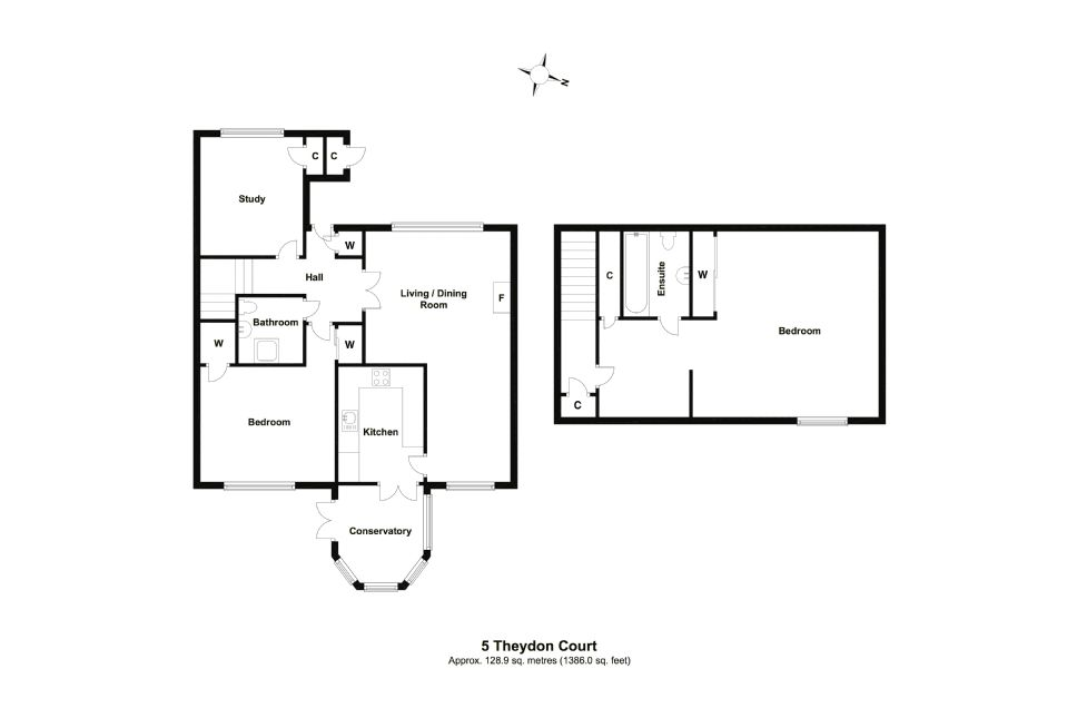 5 Theydon Court Floorplan