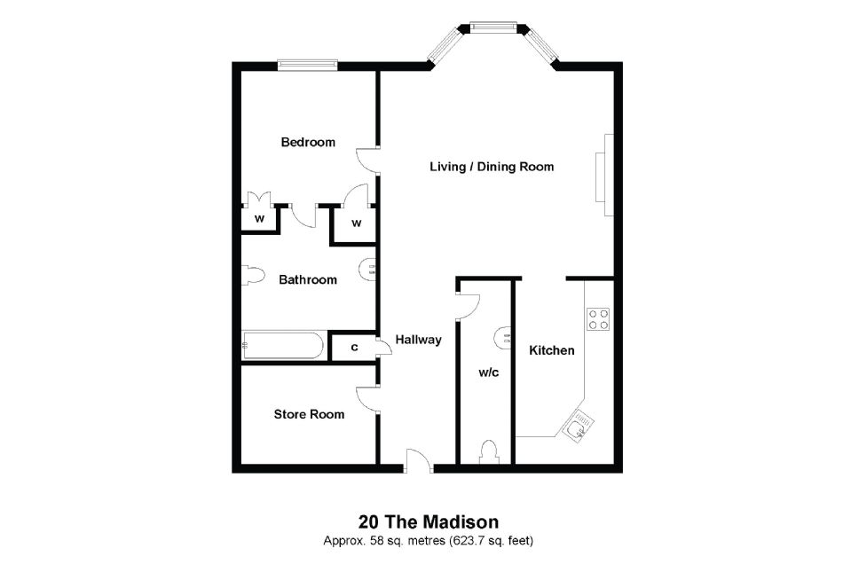 20 Madison Floorplan