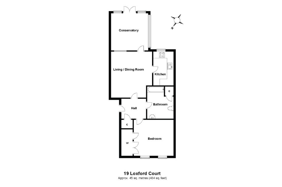 19 Loxford Court Floorplan