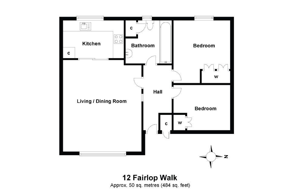 12 Fairlop Walk Floorplan