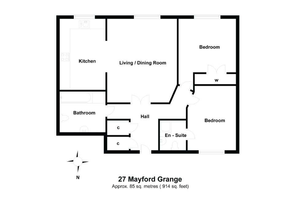 27 Sutton Green Lodge Floorplan
