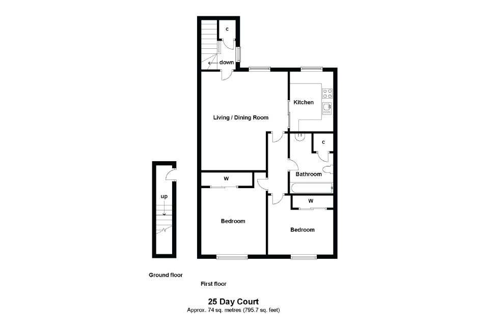 25 Day Court Floorplan