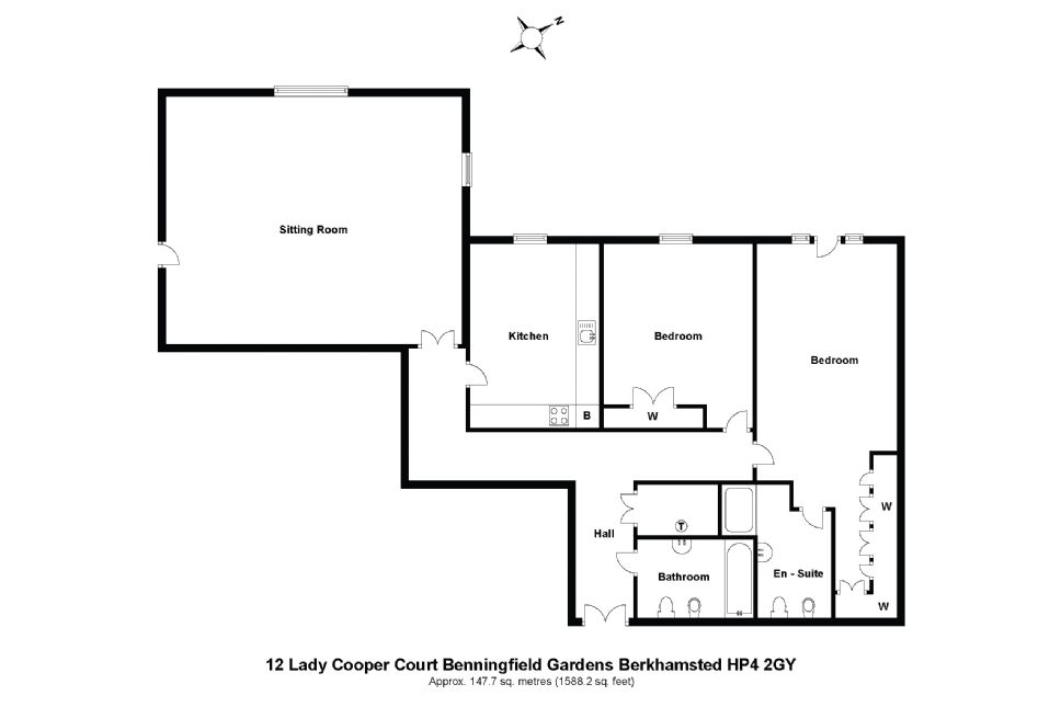 12 Lady Cooper Court Floorplan