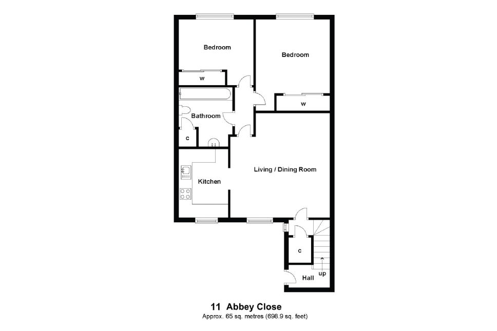 11 Abbey Close Floorplan