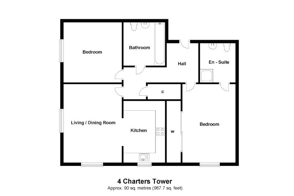 4 Charters Towers Floorplan