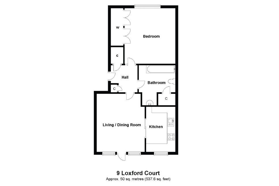 9 Loxford Court Floorplan