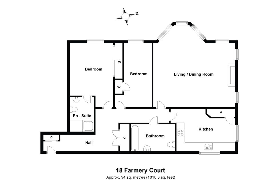 18 Farmery Court Floorplan