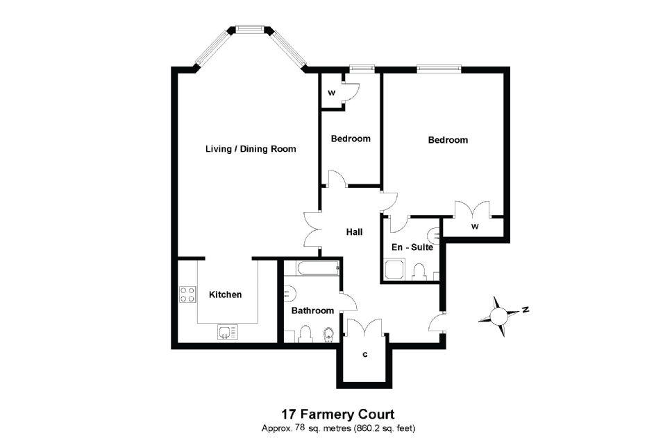 17 Farmery Court Floorplan