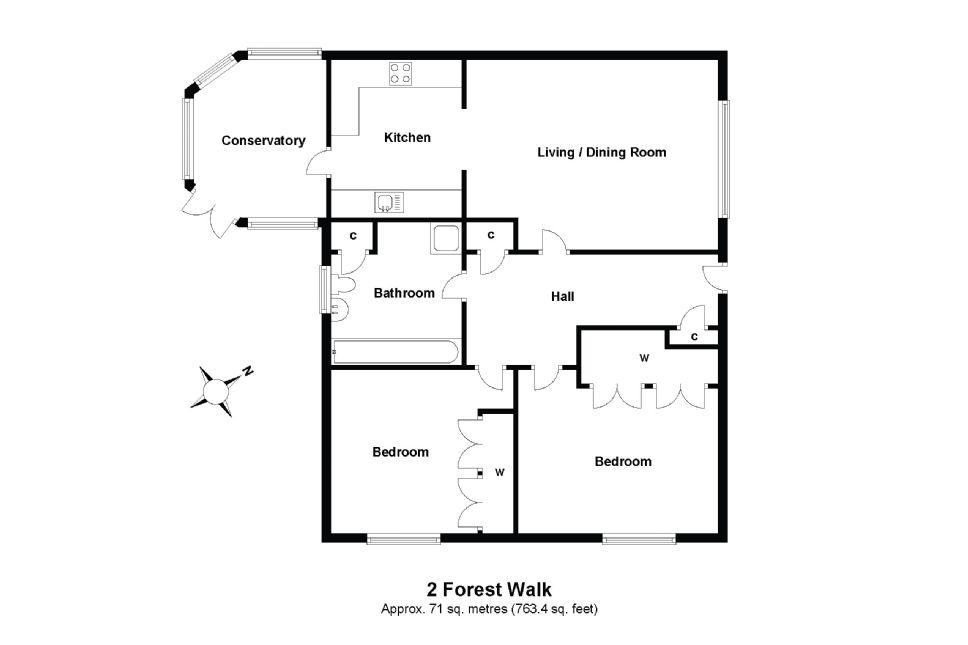 2 Forest Walk Floorplan