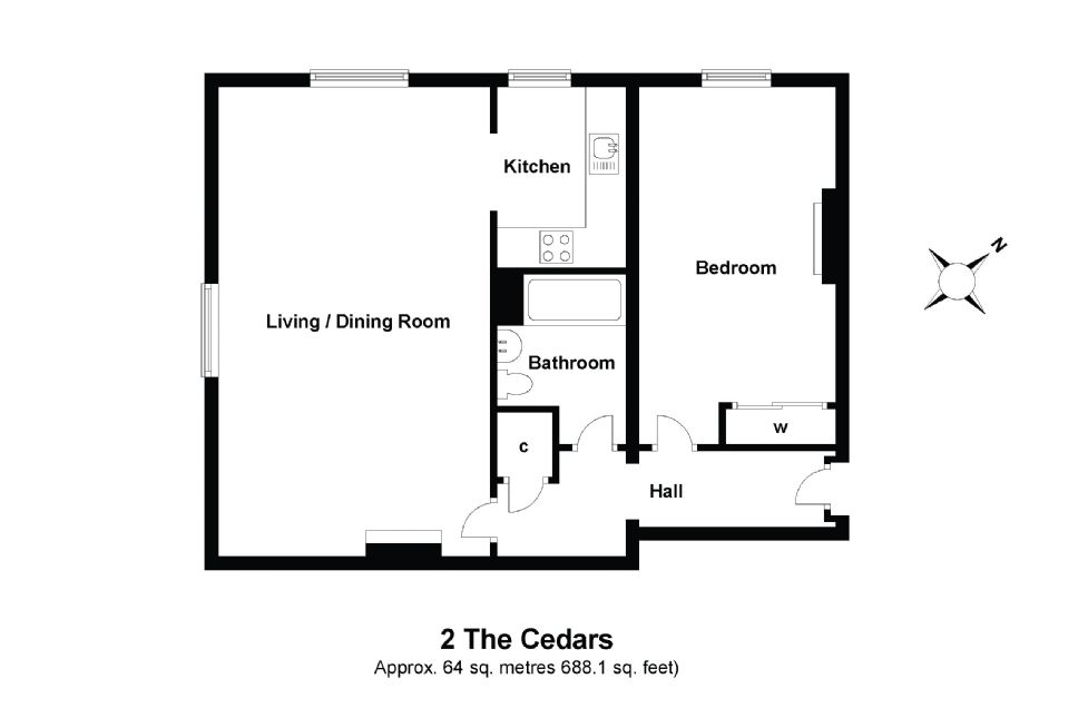 2 The Cedars Floorplan