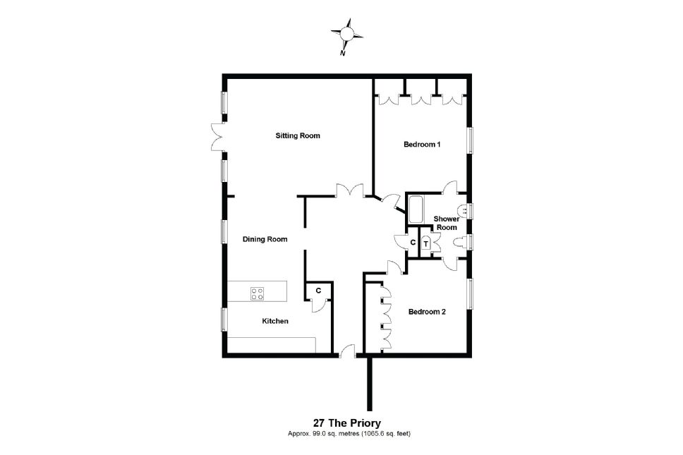27 Priory Court Floorplan