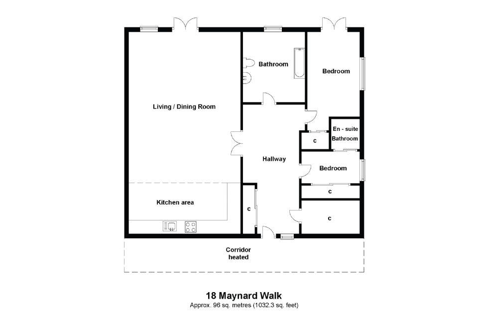 18 Maynard House Floorplan
