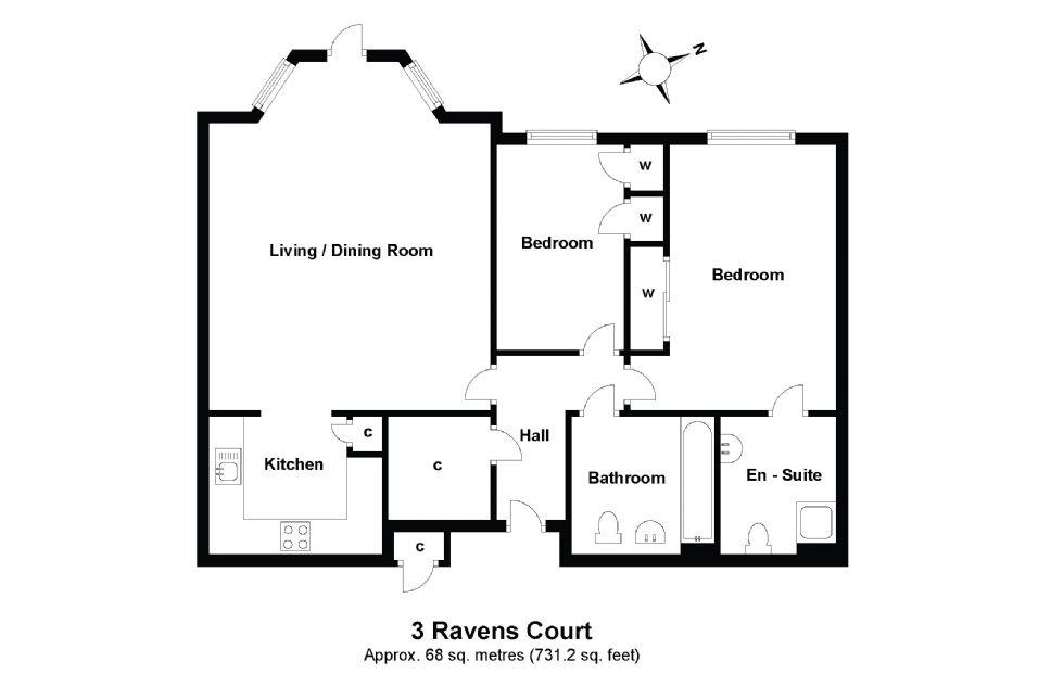 3 Ravens Court Floorplan