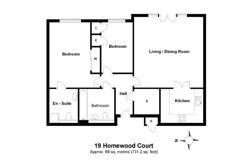19 Homewood Court Floorplan