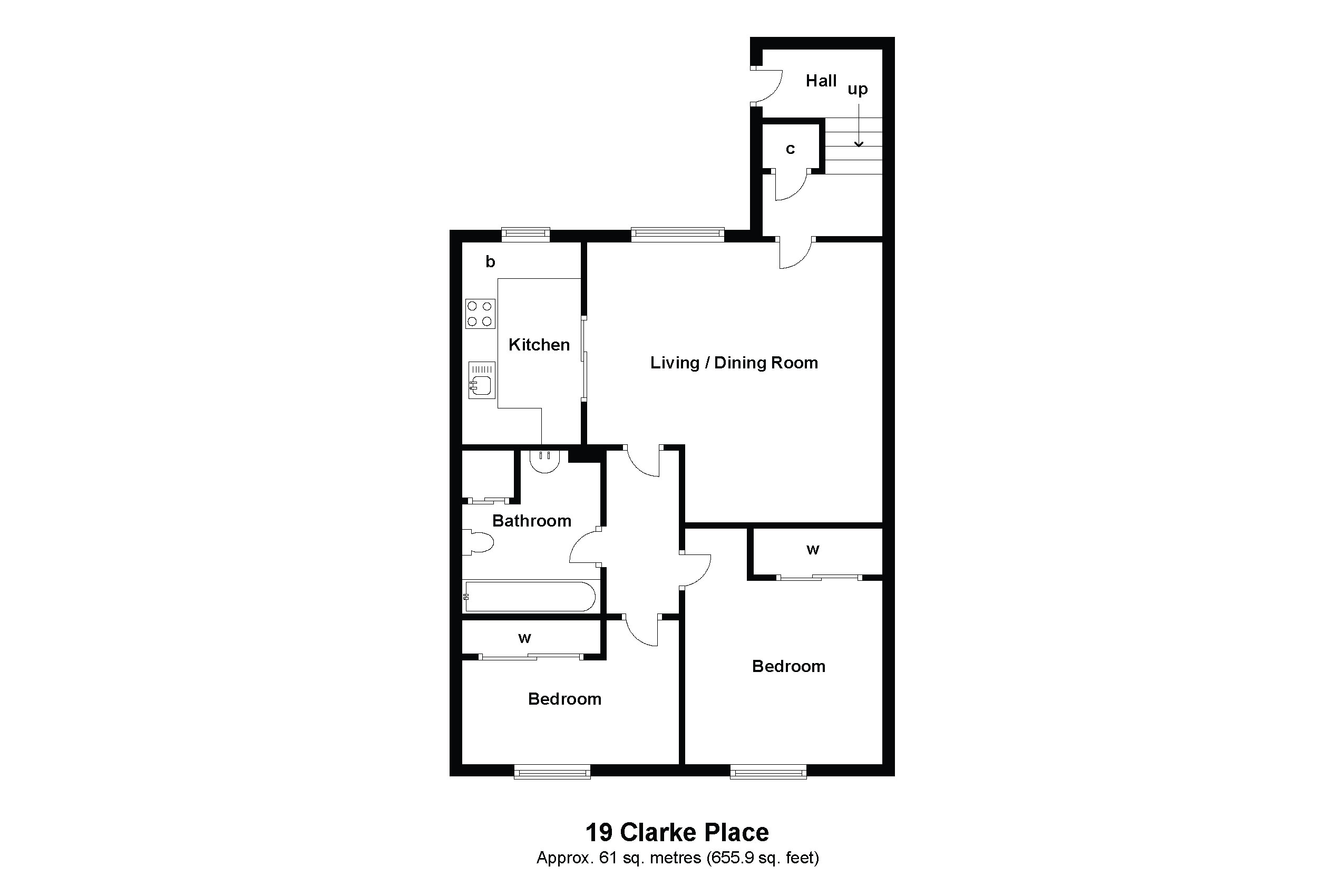 19 Clarke Place Floorplan