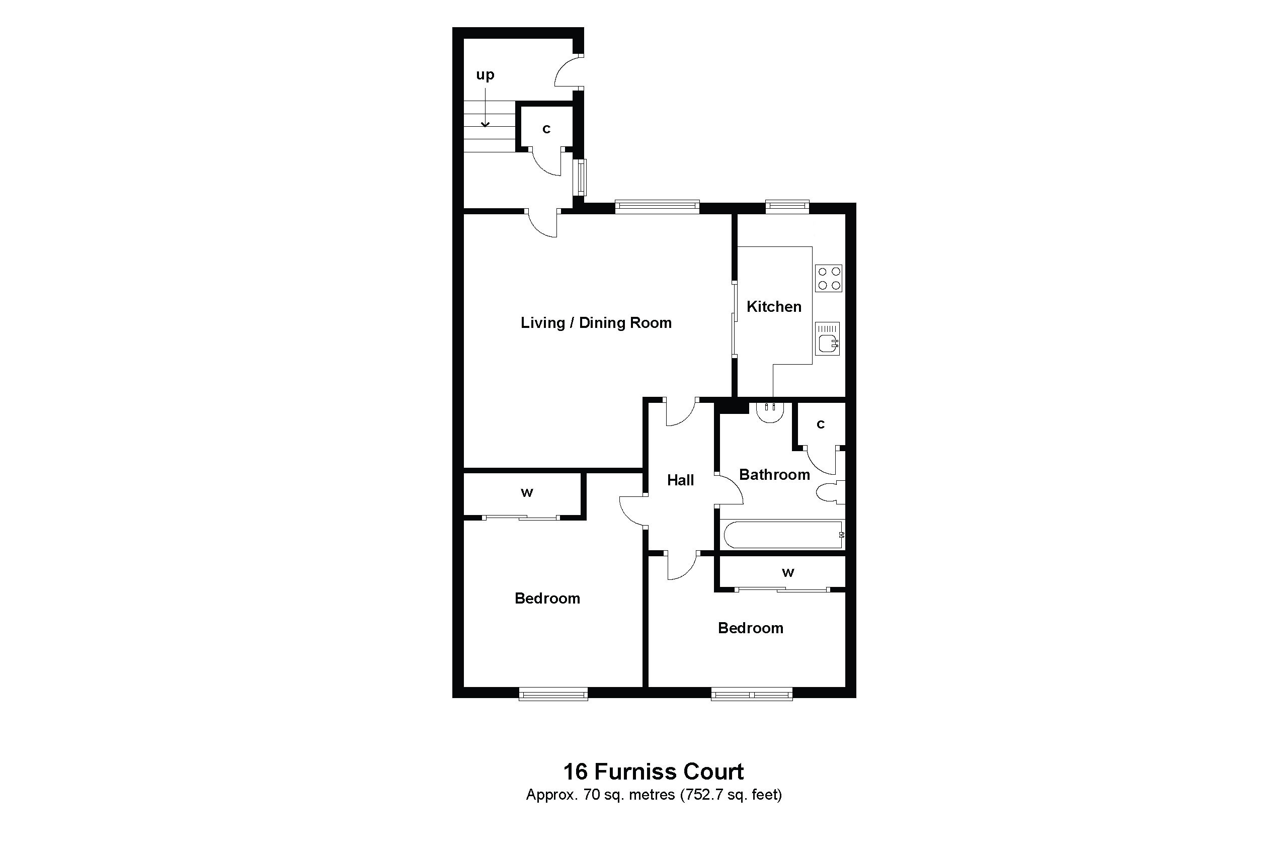 16 Furniss Court Floorplan