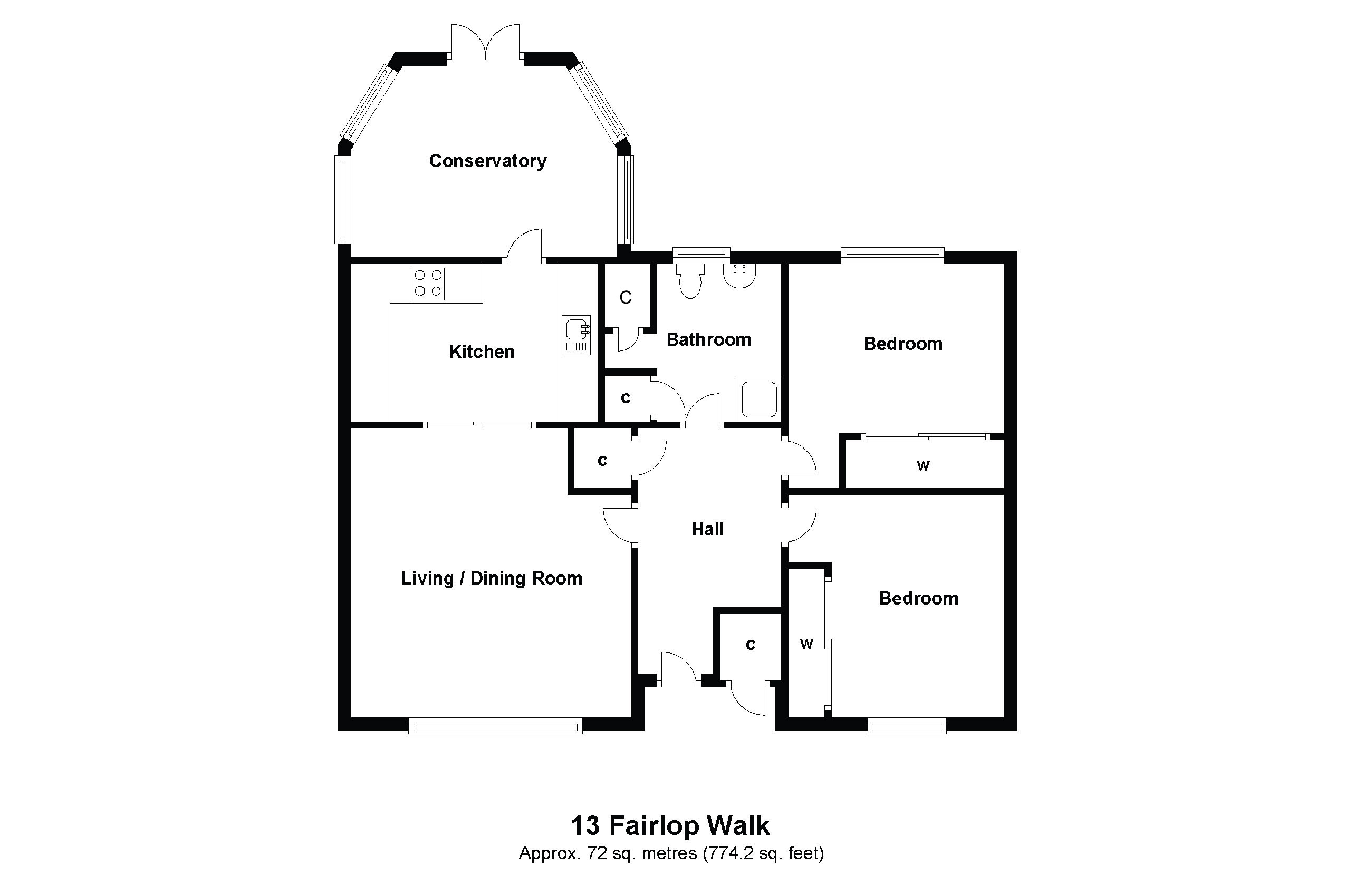 13 Fairlop Walk Floorplan