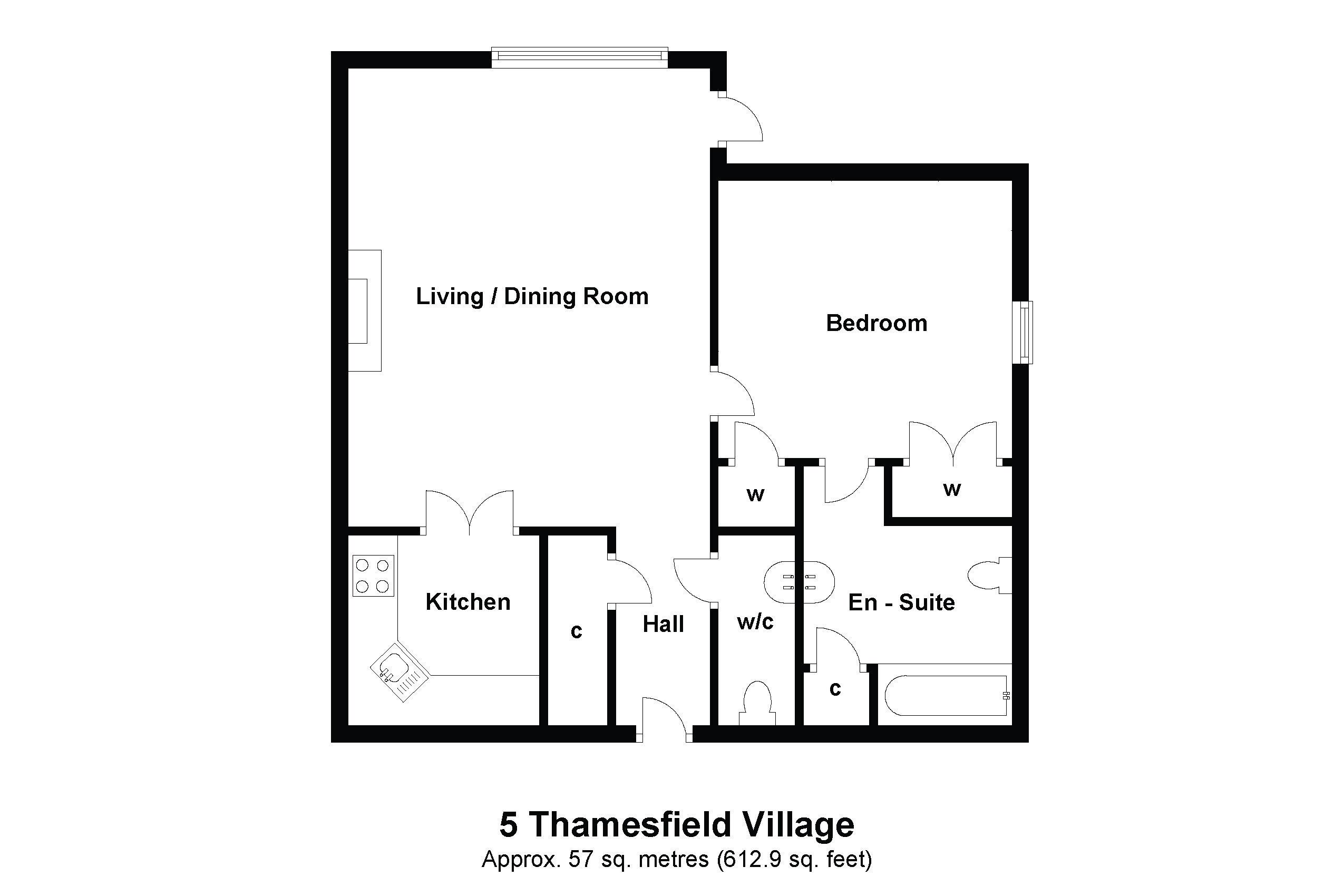 5 Thamesfield Floorplan
