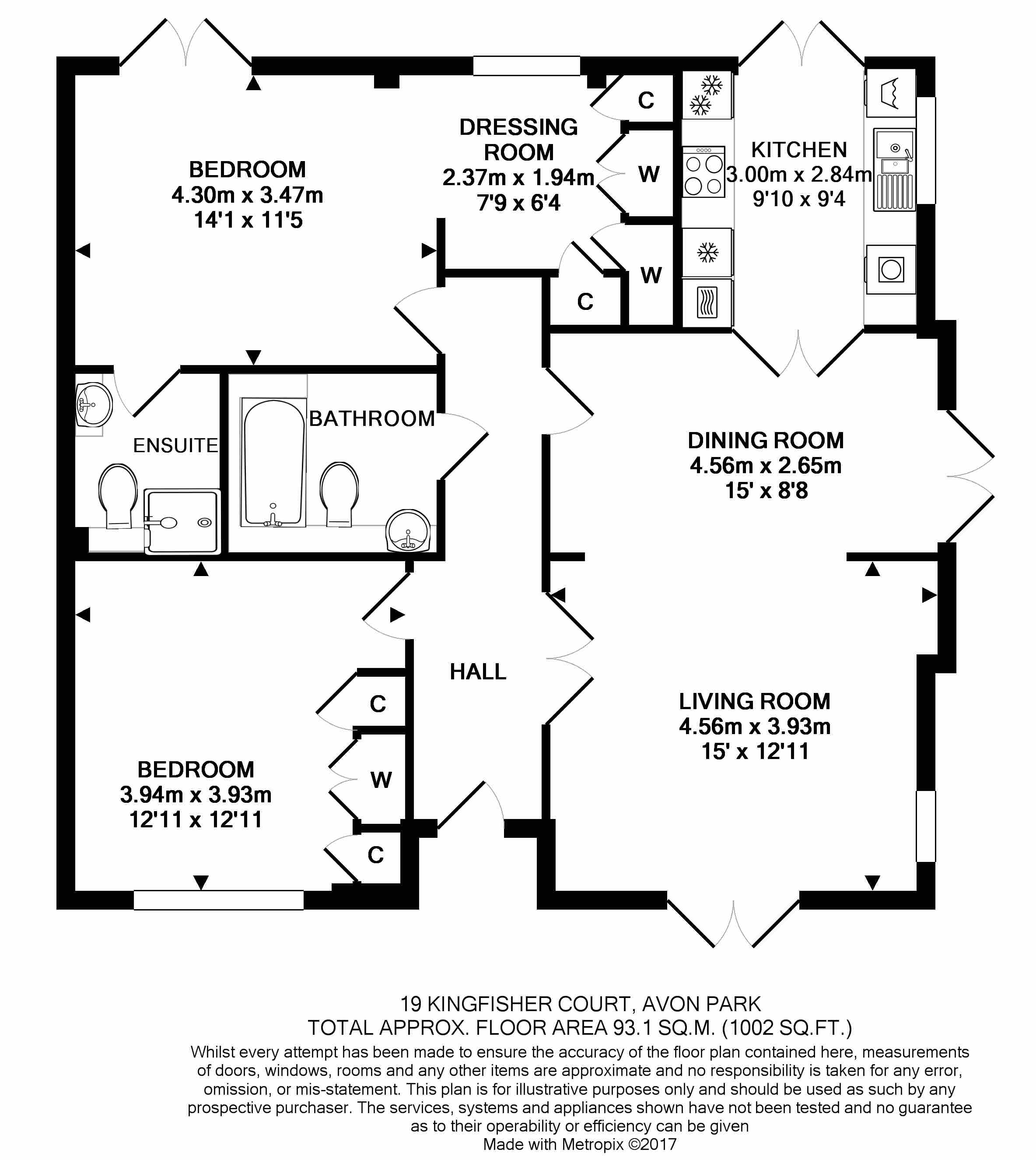 19 Kingfisher Court Floorplan