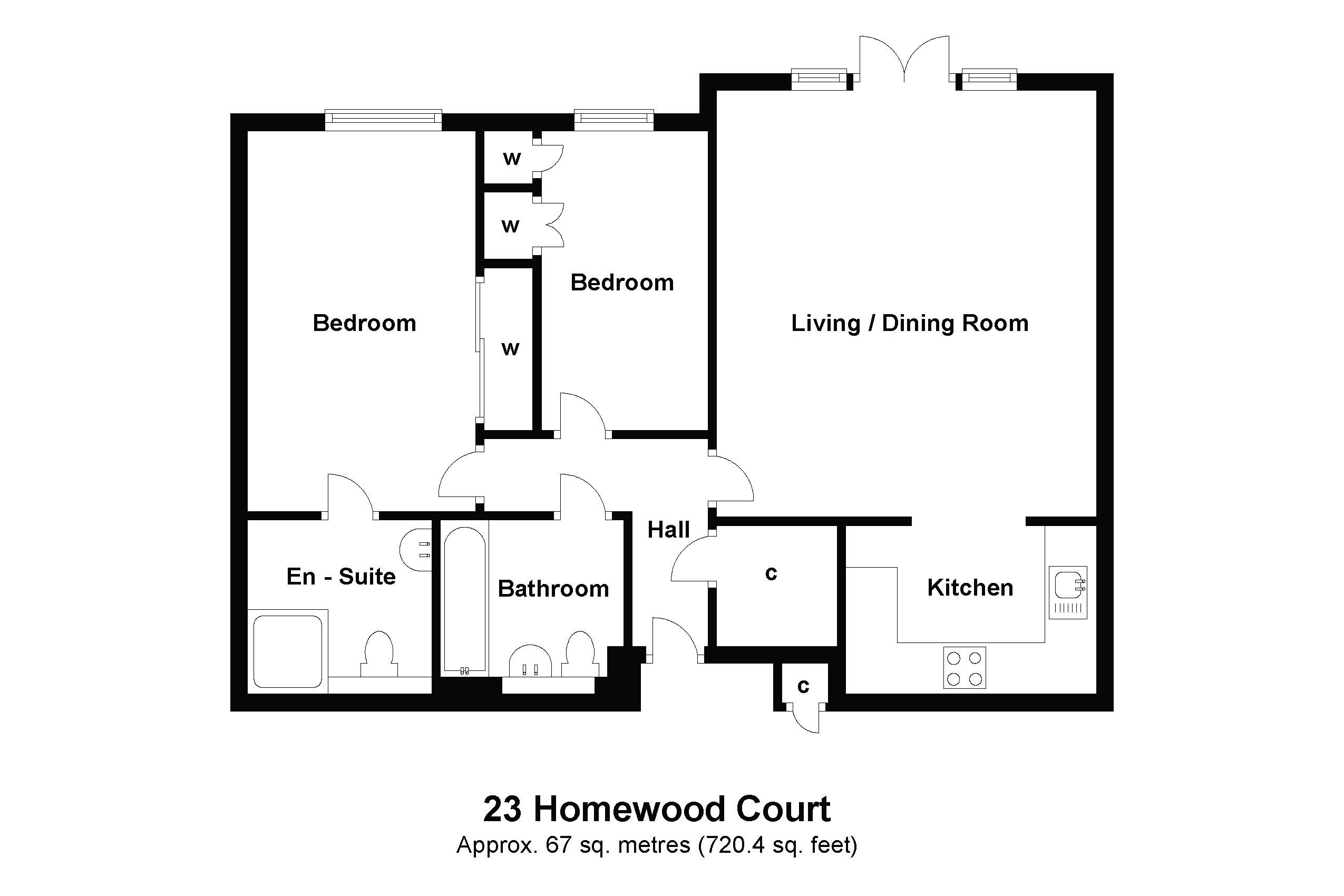 23 Homewood Court Floorplan
