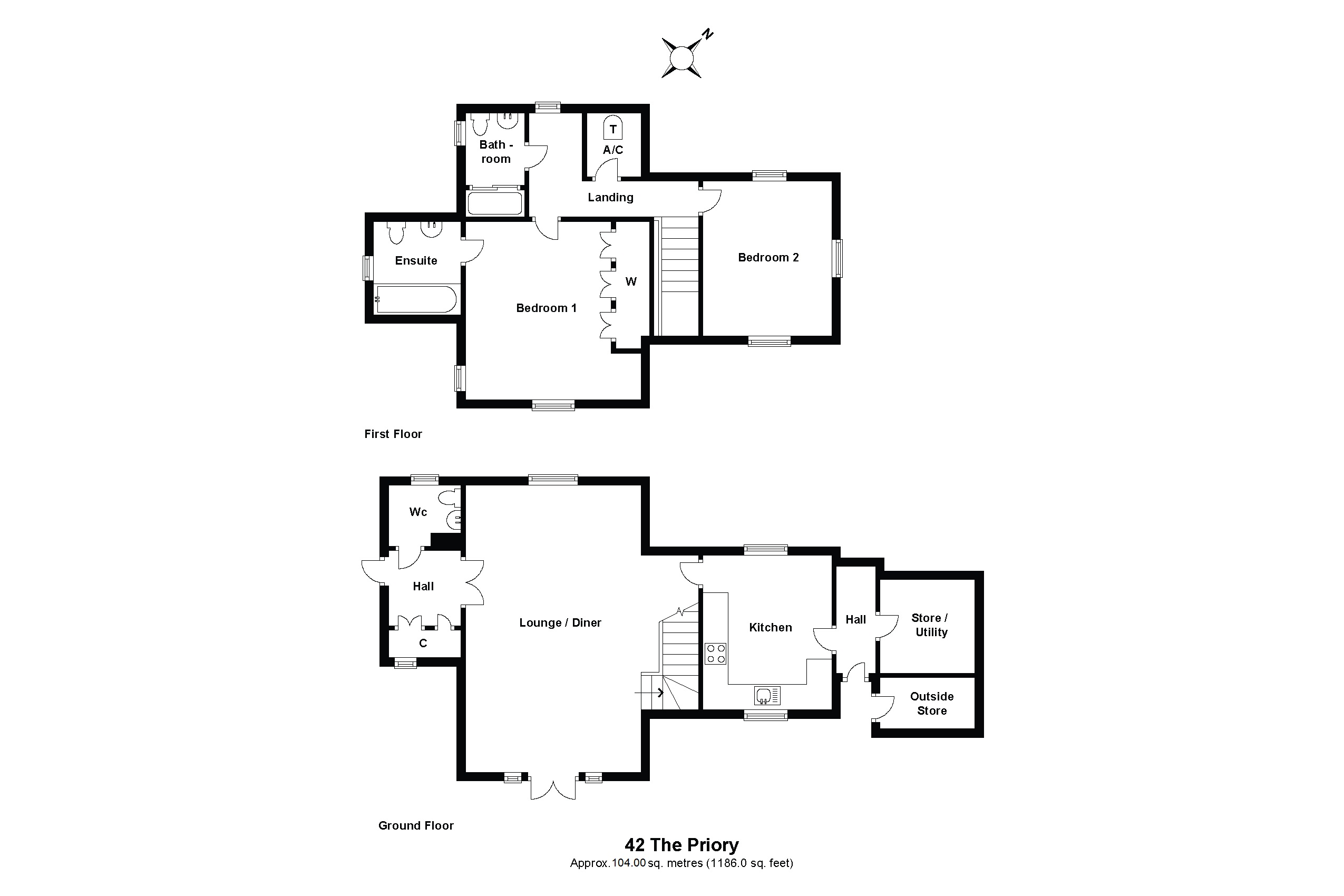 42 The Priory Floorplan