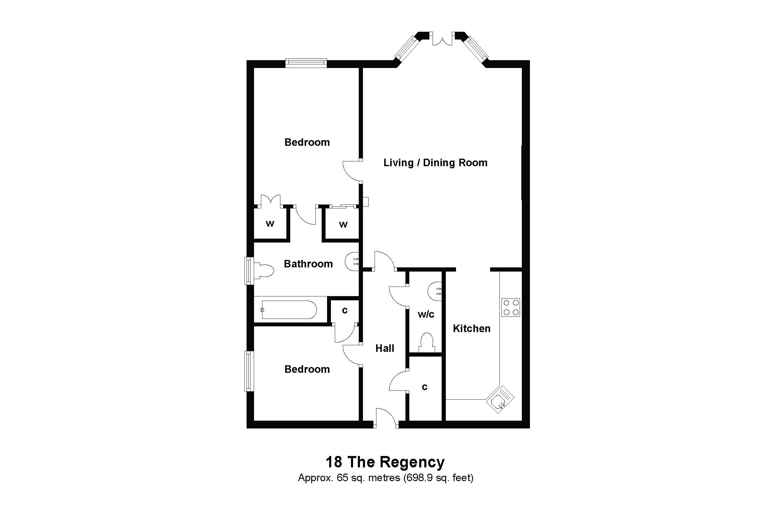 18 Regency Floorplan
