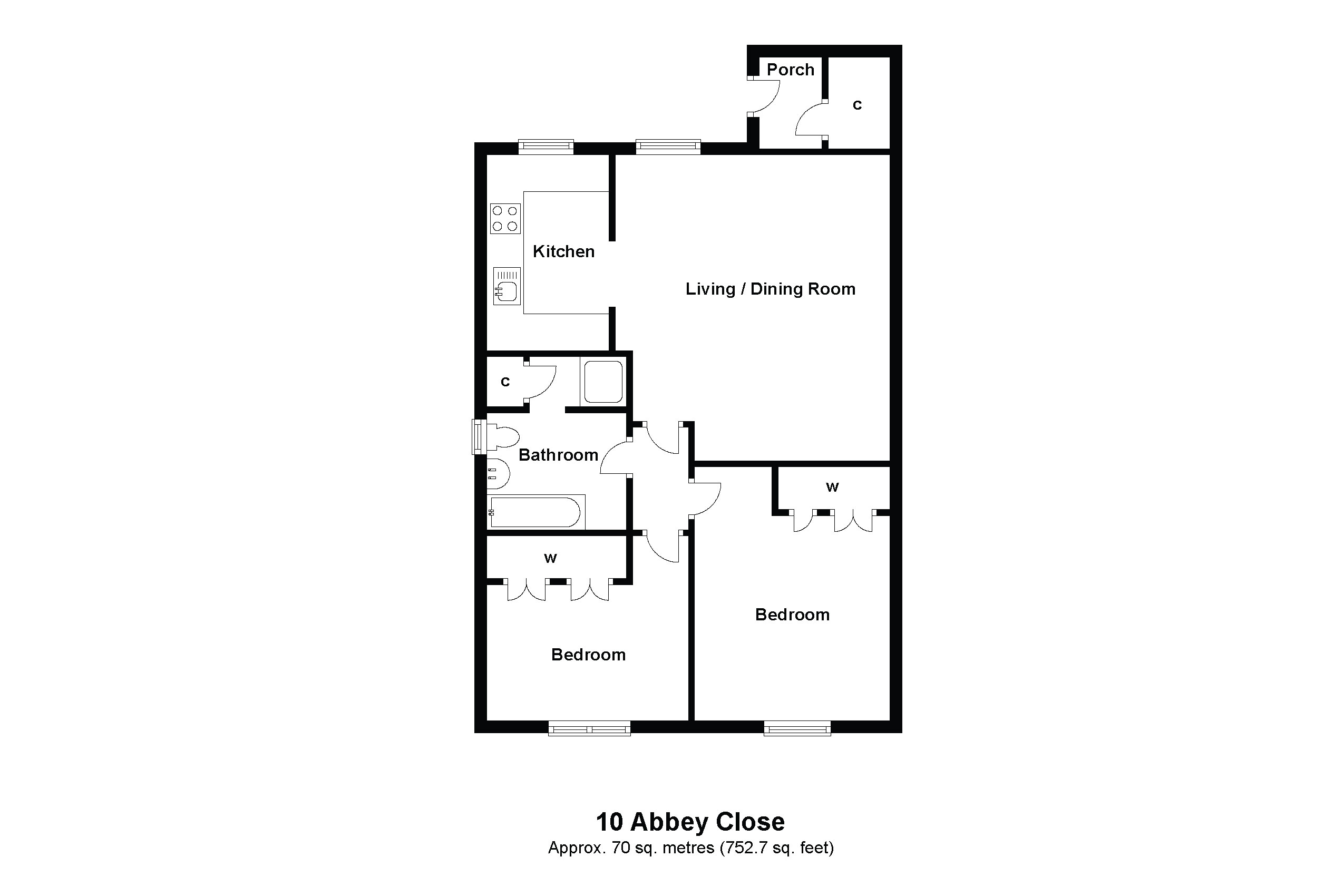 10 Abbey Close Floorplan