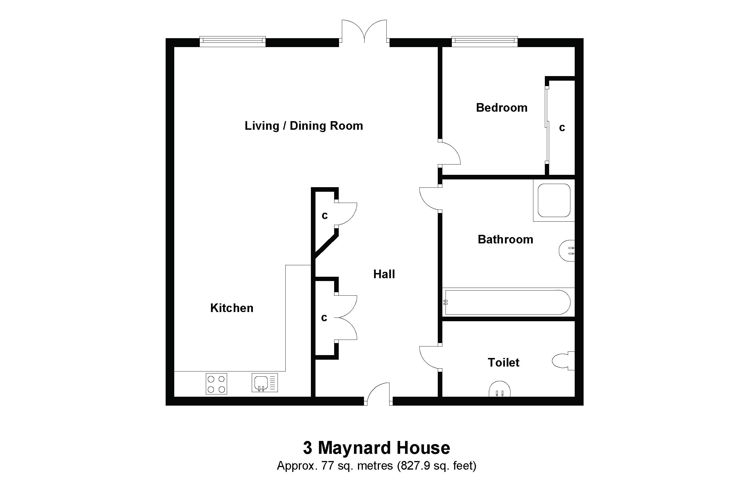 3 Maynard House Floorplan
