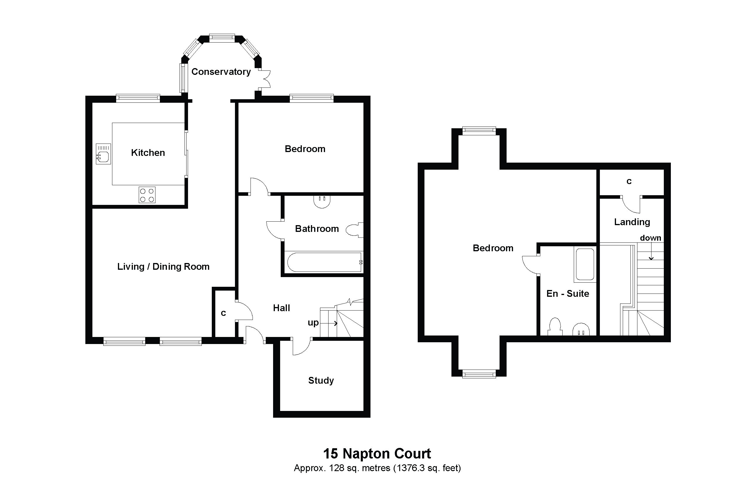 15 Napton Court Floorplan