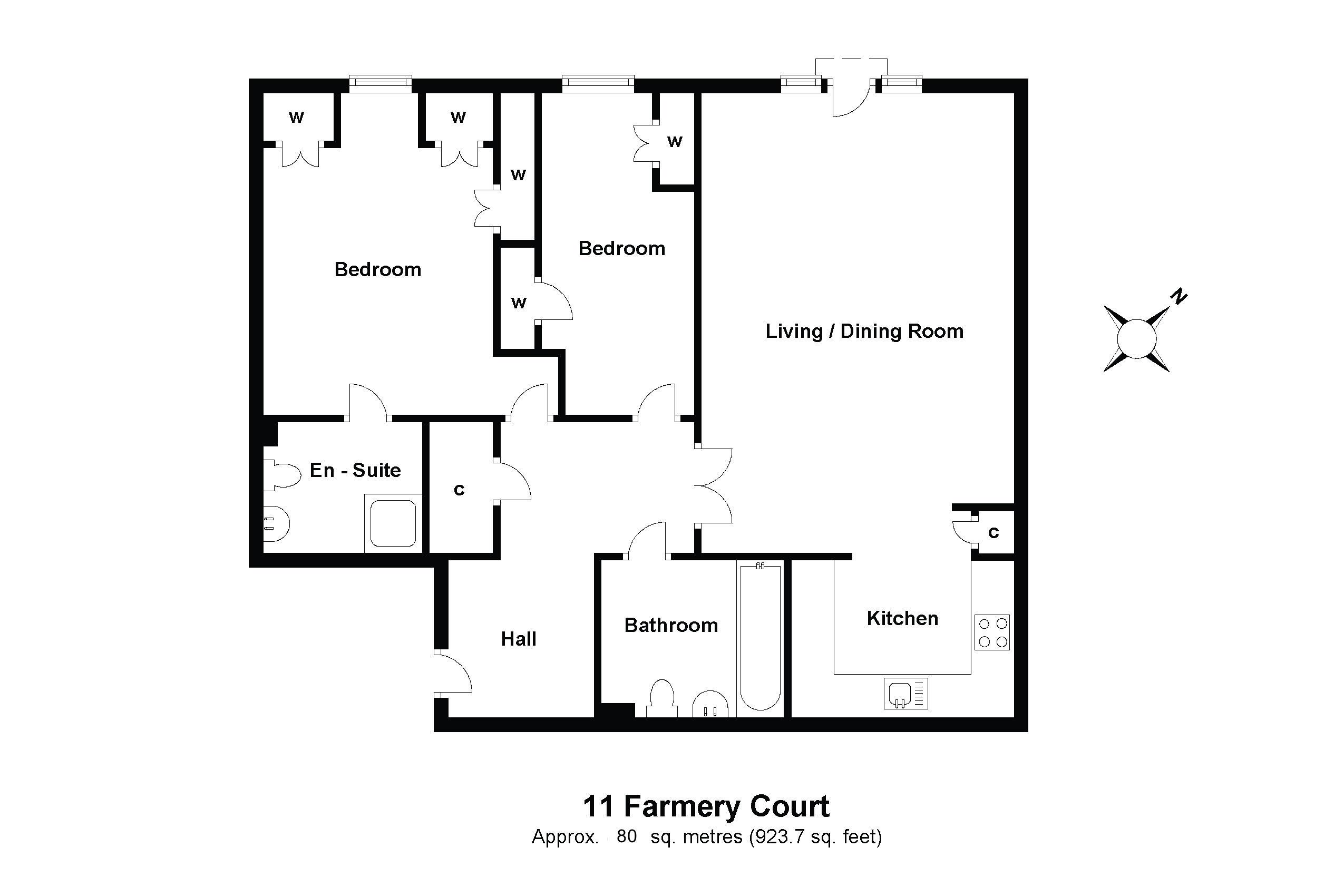 11 Farmery Court Floorplan