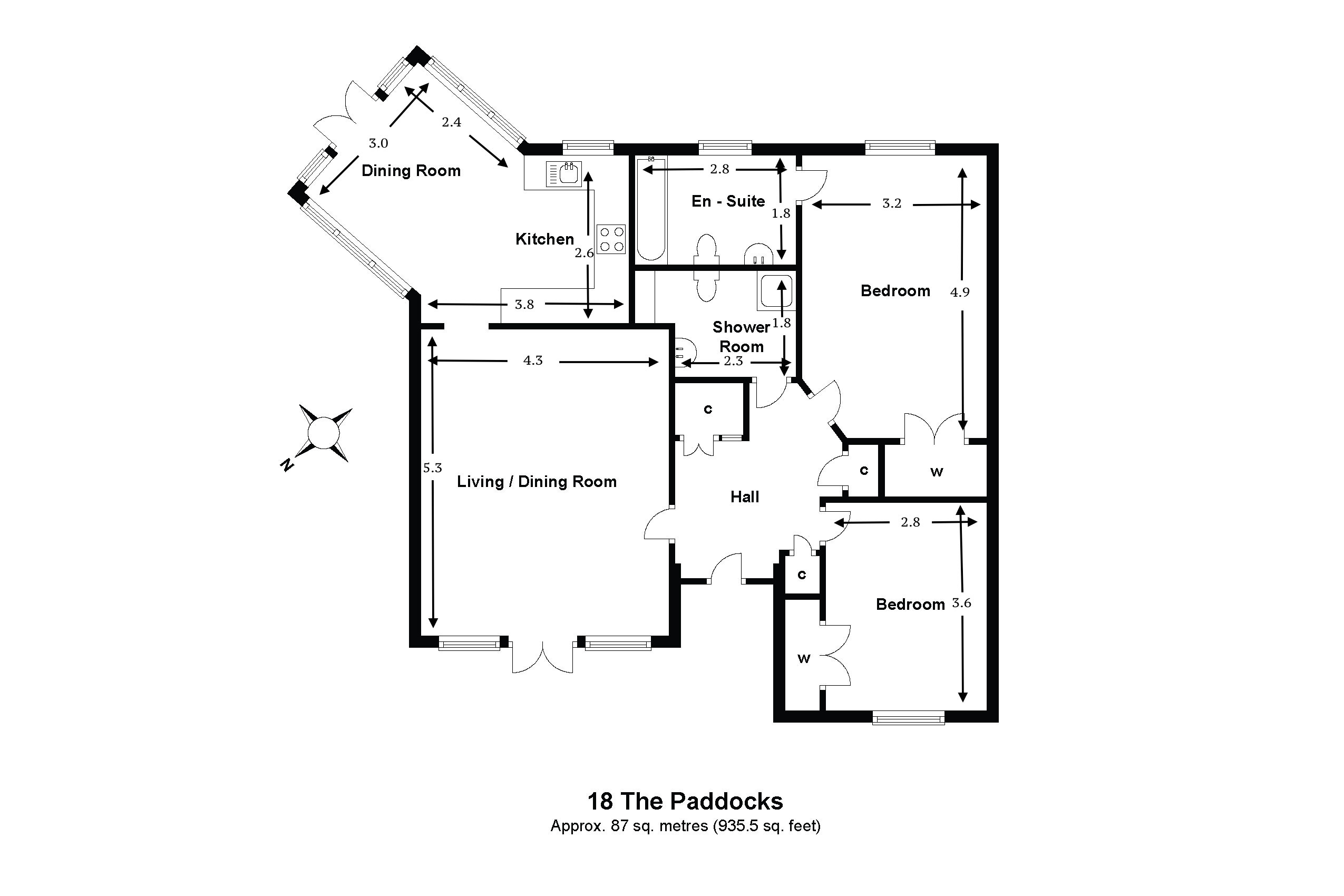 18 The Paddocks Floorplan