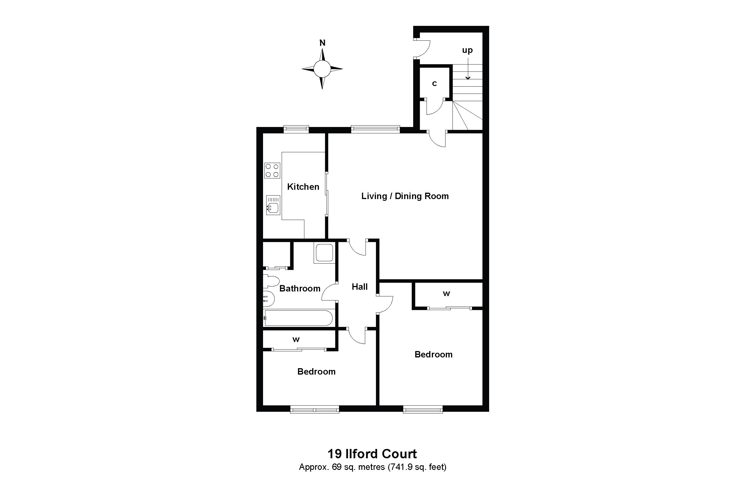 19 Ilford Court Floorplan