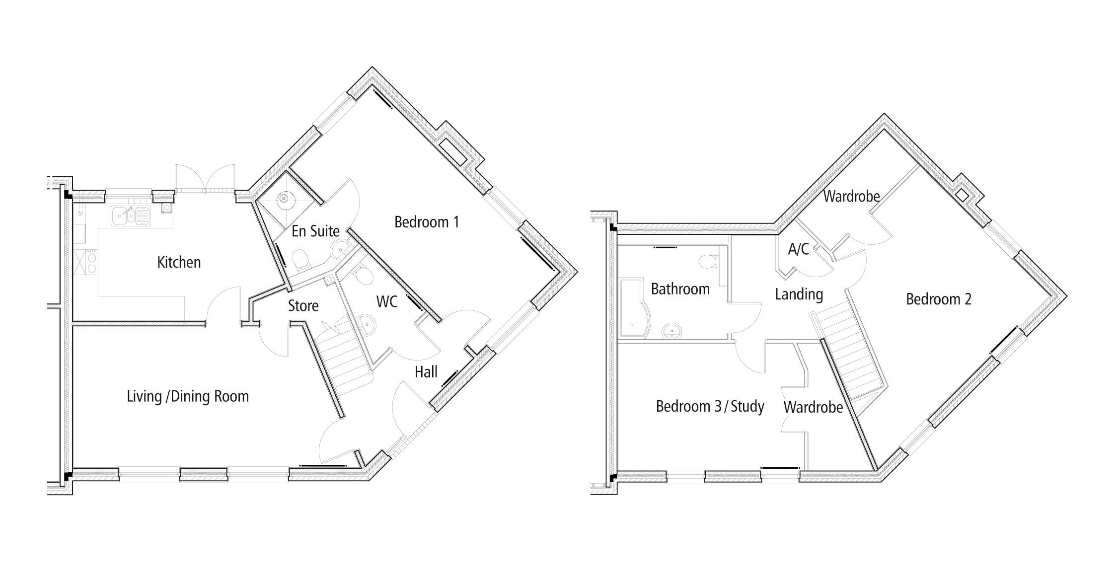 New Build 43 The Polo Field Floorplan