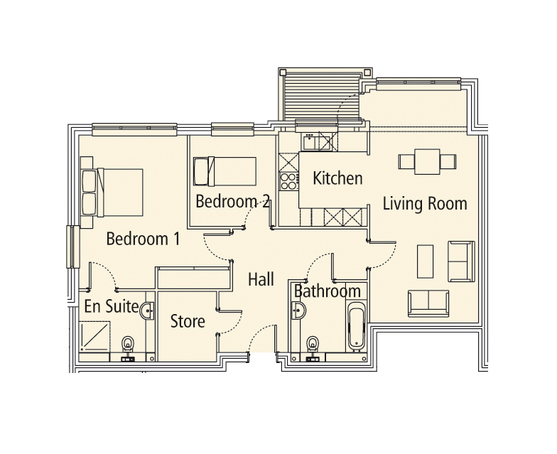 New Build 15 Medway House Floorplan