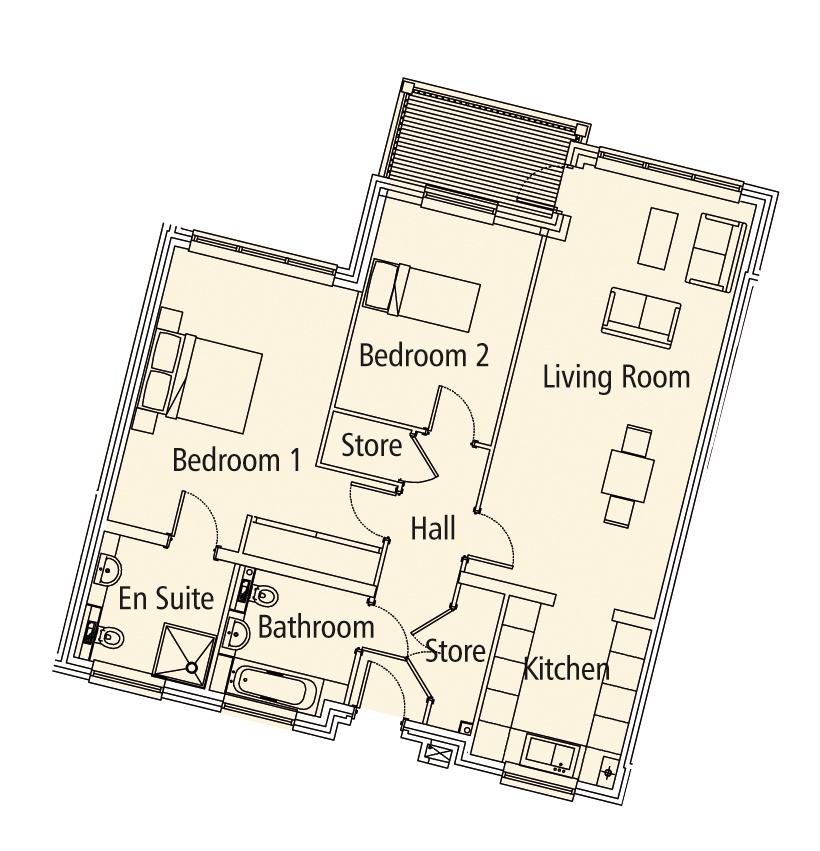 New Build 11 Bush Davies House Floorplan